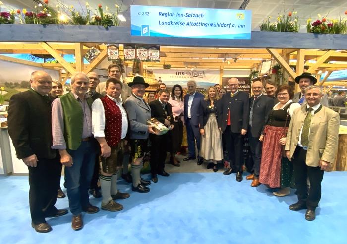 Inn-Salzach Region präsentiert sich in Berlin