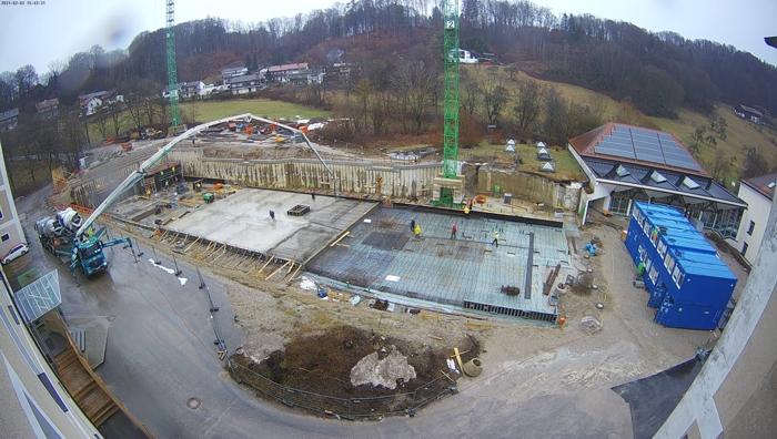 Investition in die Bildung – im Haushalt 2021 sind für den Ersatzneubau Gymnasium Gars 8 Millionen Euro eingeplant.