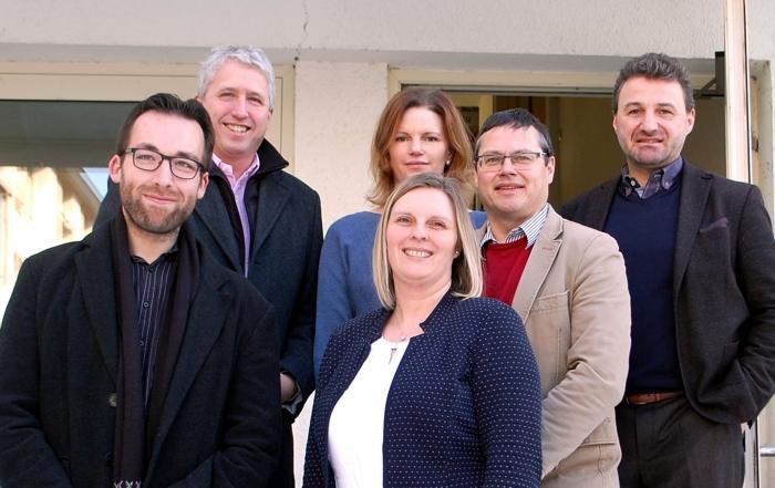 Das Team der Kultur- und Kreativwirtschaft in den Landkreisen Altötting und Mühldorf