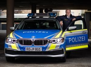 Präsident Robert Kopp vom Polizeipräsidium Oberbayern Süd