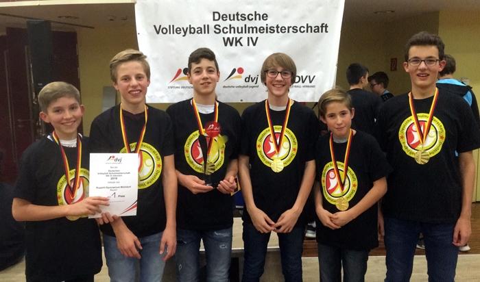 Deutsche Volleball-Schulmeister: Ruperti Gymnasium Mühldorf