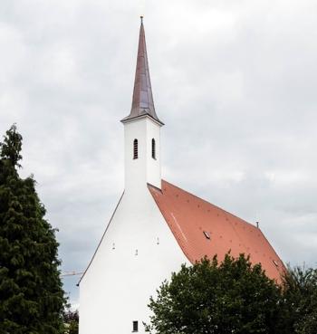 St. Katarina in Mühldorf - Außenansicht - ©  Architekturfotografin Adrienne-Sophie Hoffer