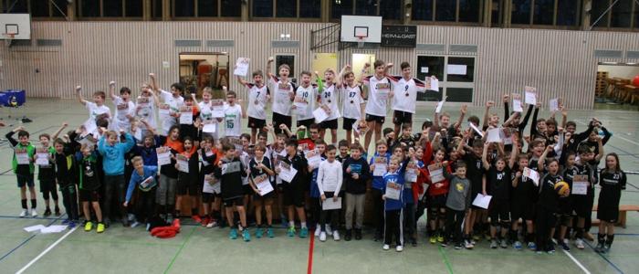 Mühldorfer U14-Volleyballer wurden oberbayerische Meister