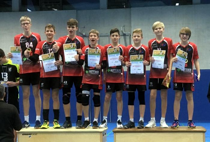 U 16 oberbayerischer Meister - Zweite Mannschaft auf Platz 10
