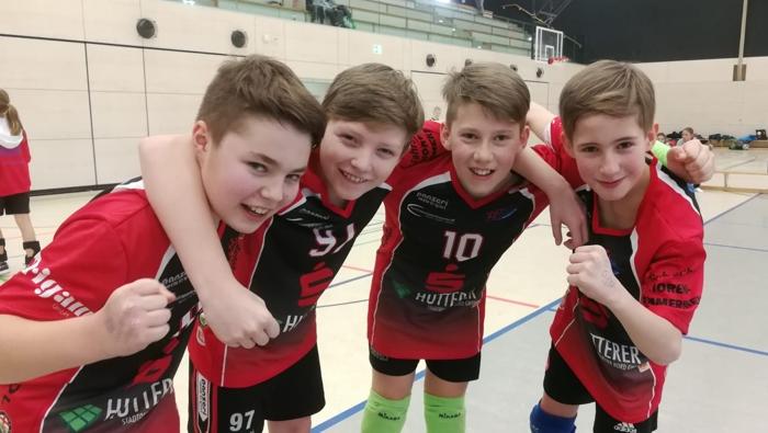 U13-Volleyballer des TSV1860 Mühldorf