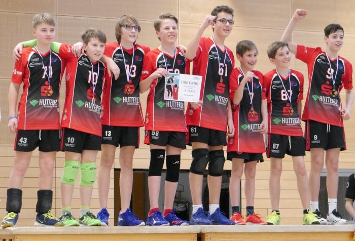 U14-Volleyballer des TSV1860 Mühldorf