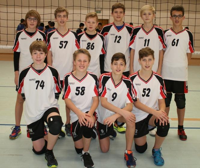 U 15 Volleyballer des TSV